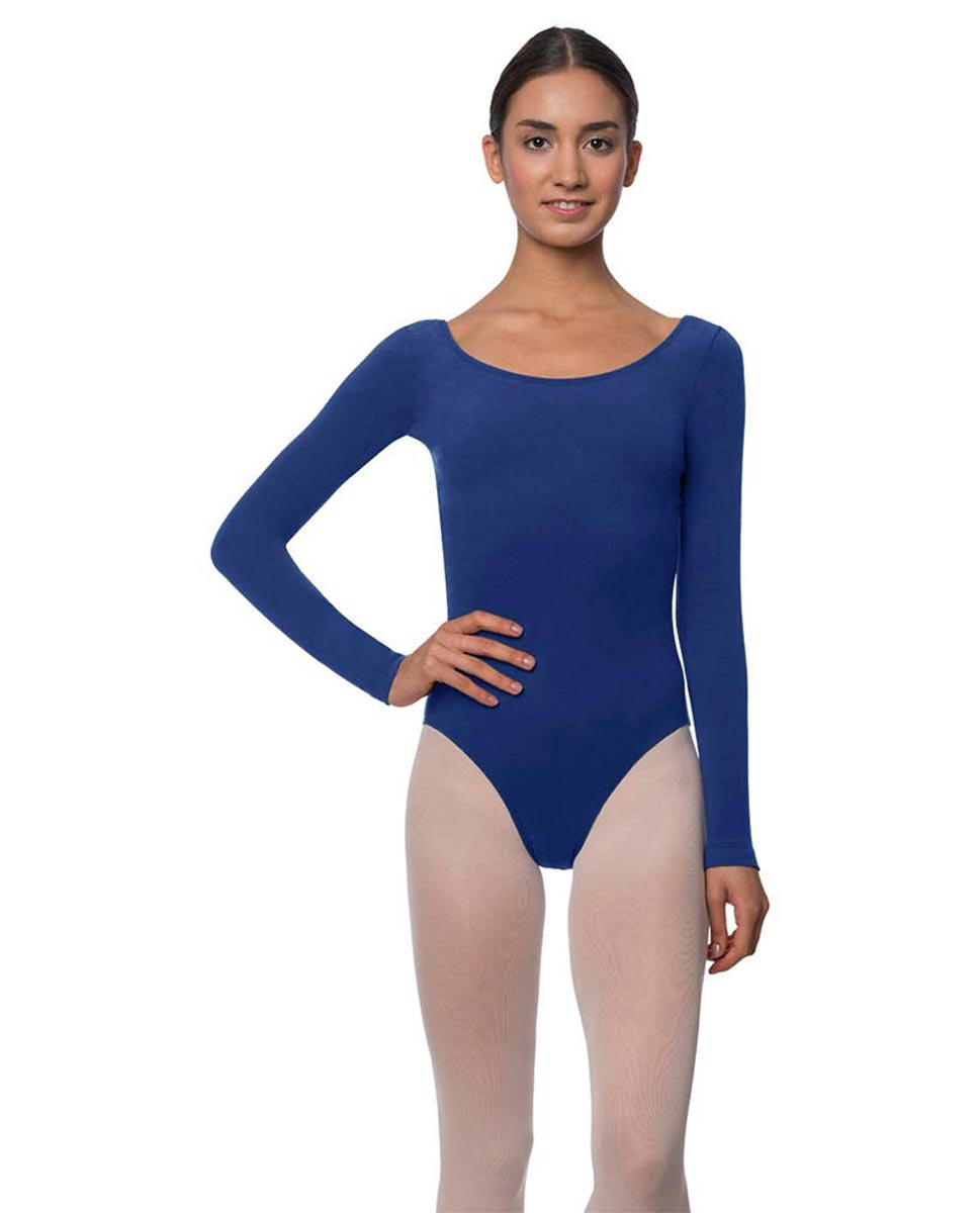Long Sleeve Cotton Ballet Leotard Liv UMA