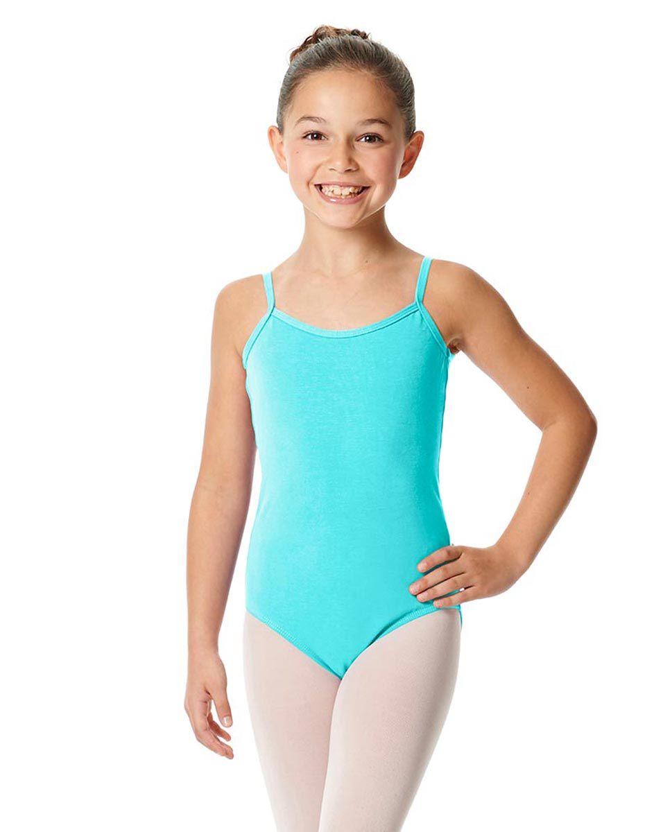 Girls Camisole Cotton Ballet Leotard Lily AQU