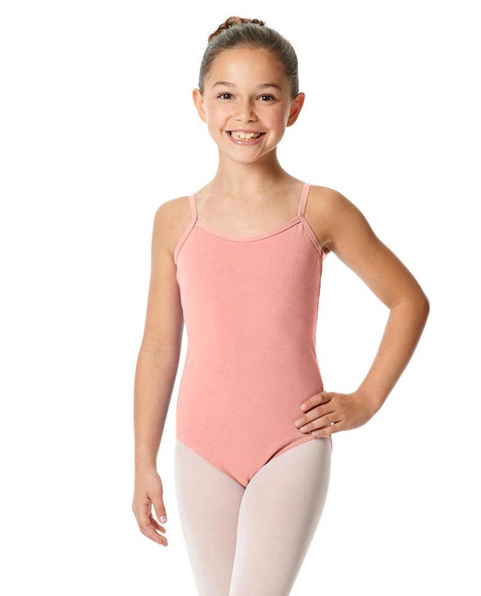 Girls Camisole Cotton Ballet Leotard Lily BPINK