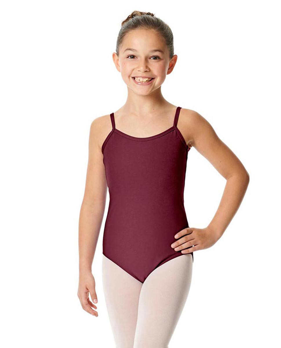 Girls Camisole Cotton Ballet Leotard Lily BUR