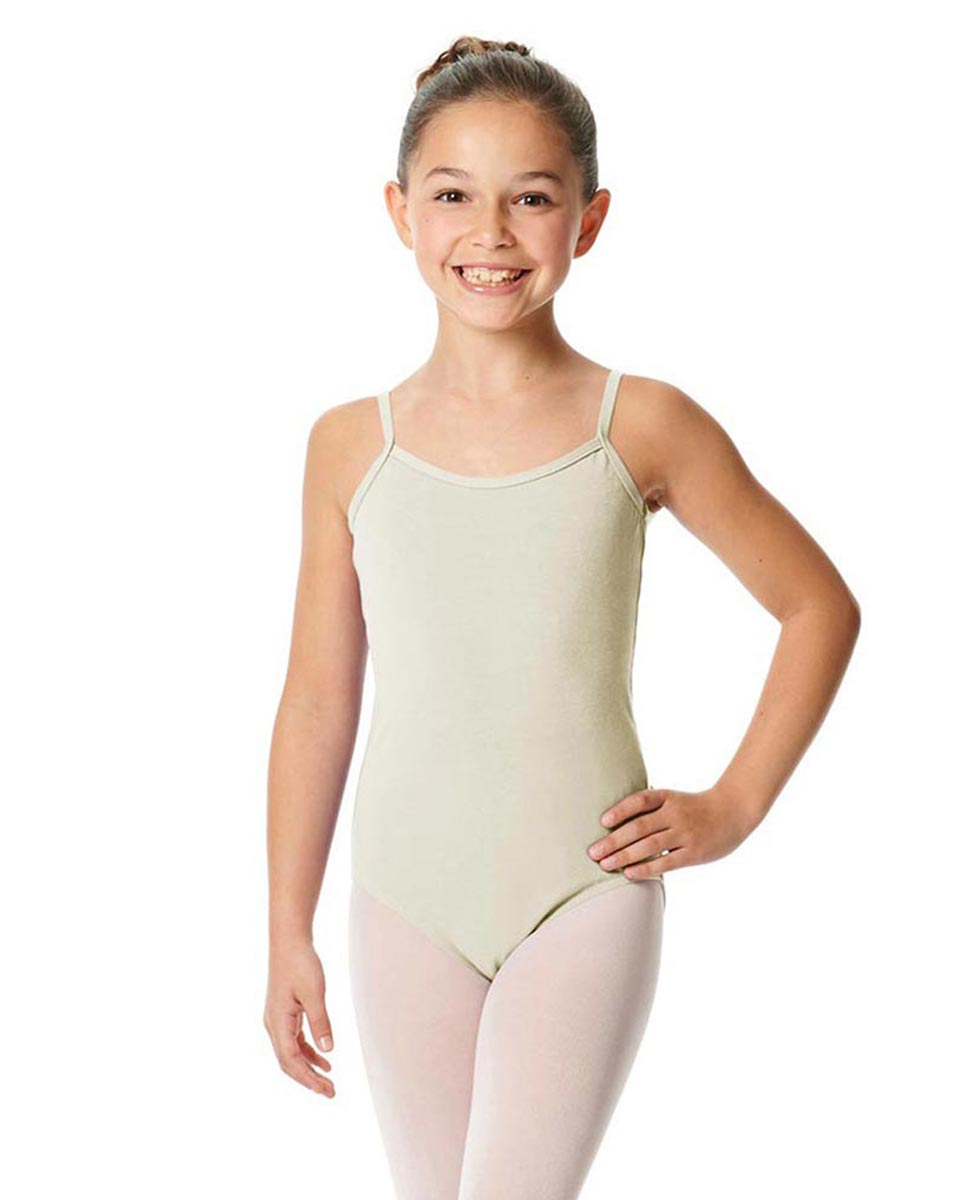 Girls Camisole Cotton Ballet Leotard Lily IVOR