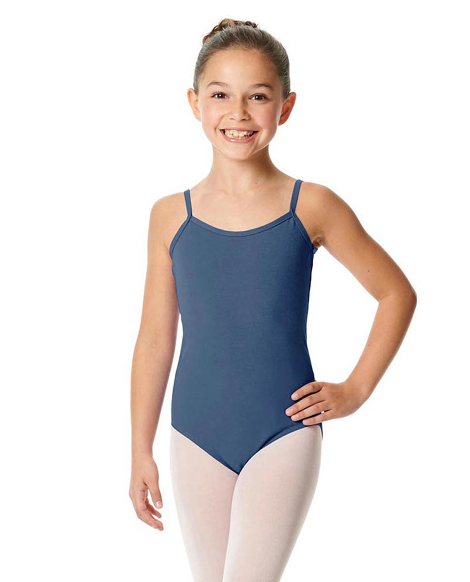 Girls Camisole Cotton Ballet Leotard Lily JEA