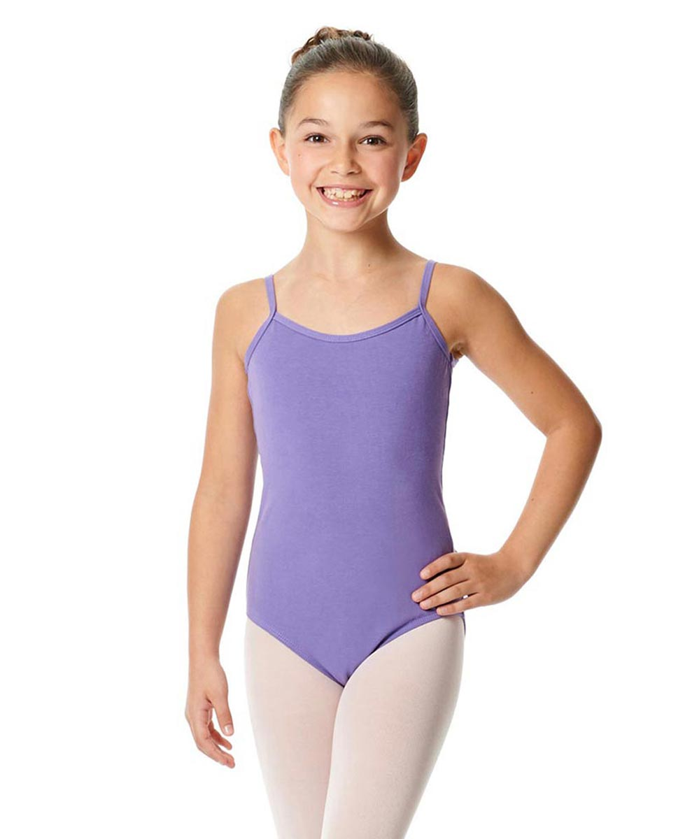 Girls Camisole Cotton Ballet Leotard Lily LAV