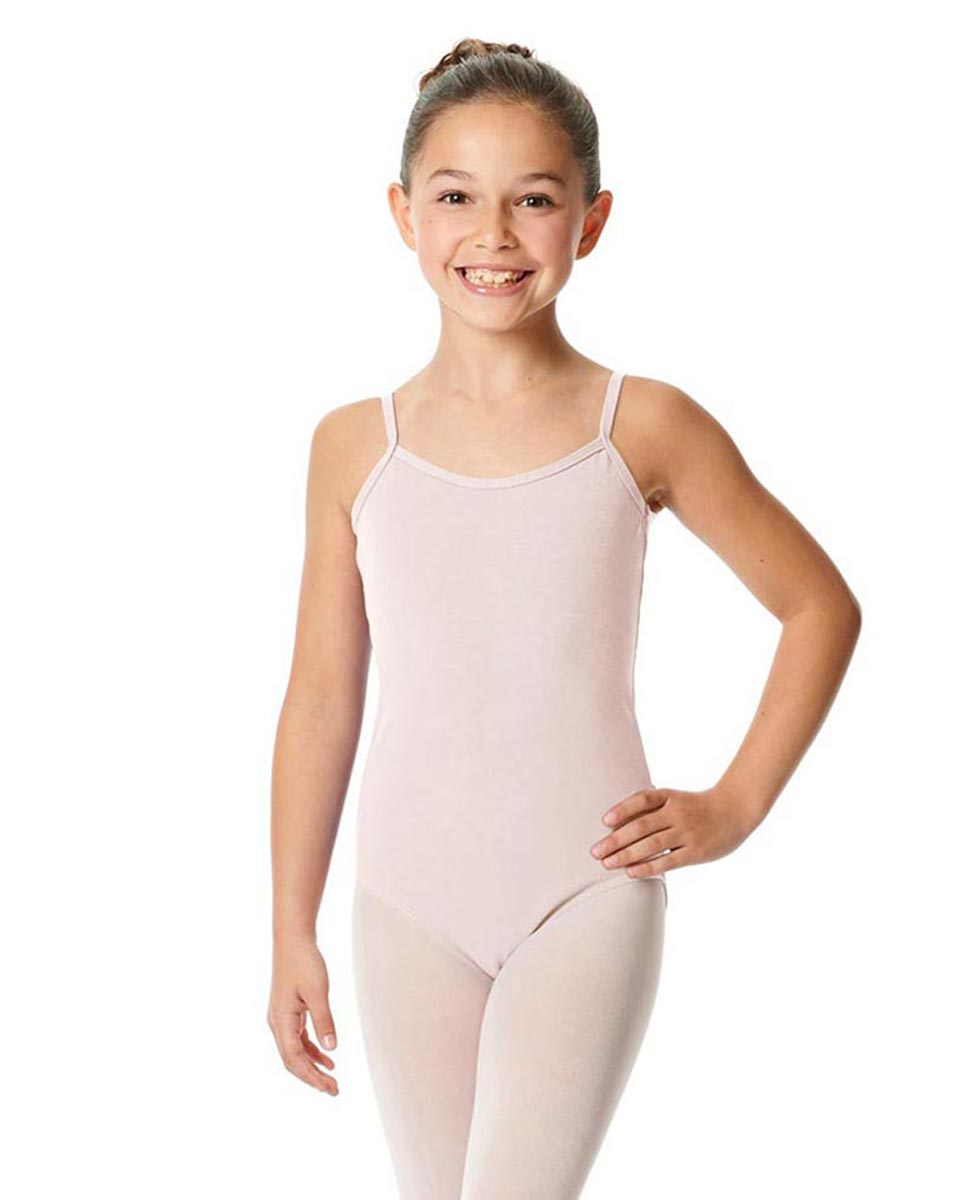 Girls Camisole Cotton Ballet Leotard Lily LPNK