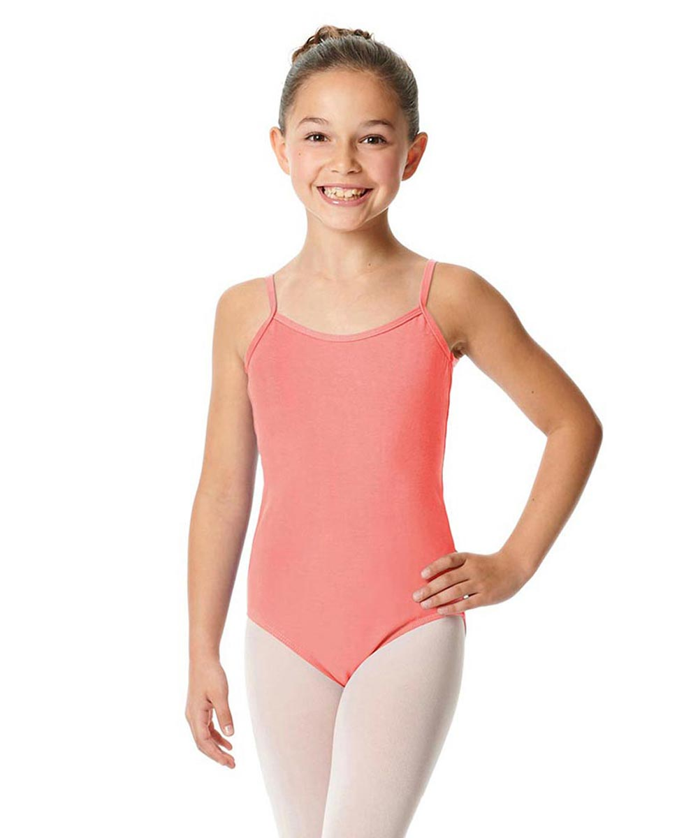 Girls Camisole Cotton Ballet Leotard Lily PEAC