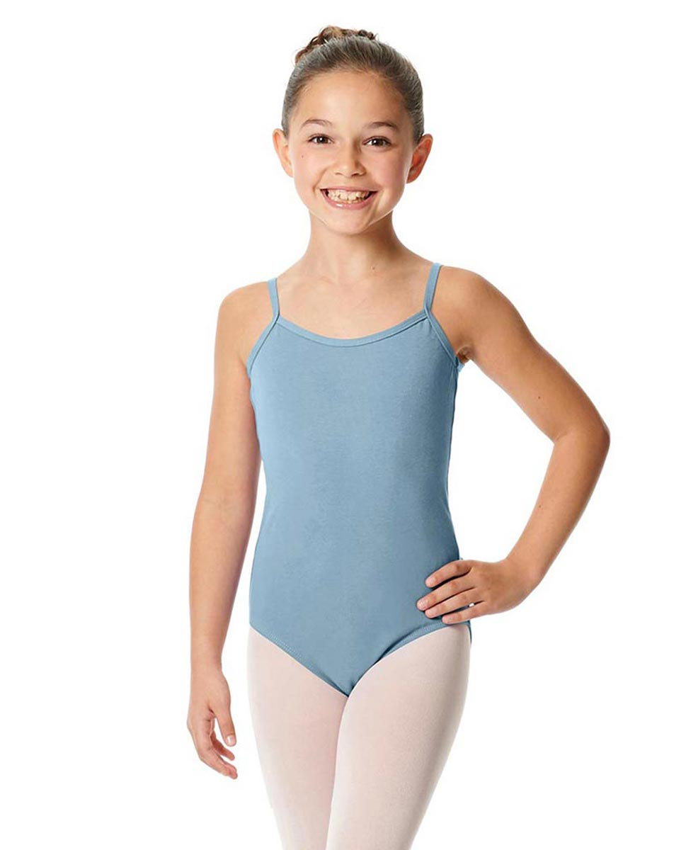 Girls Camisole Cotton Ballet Leotard Lily SKY