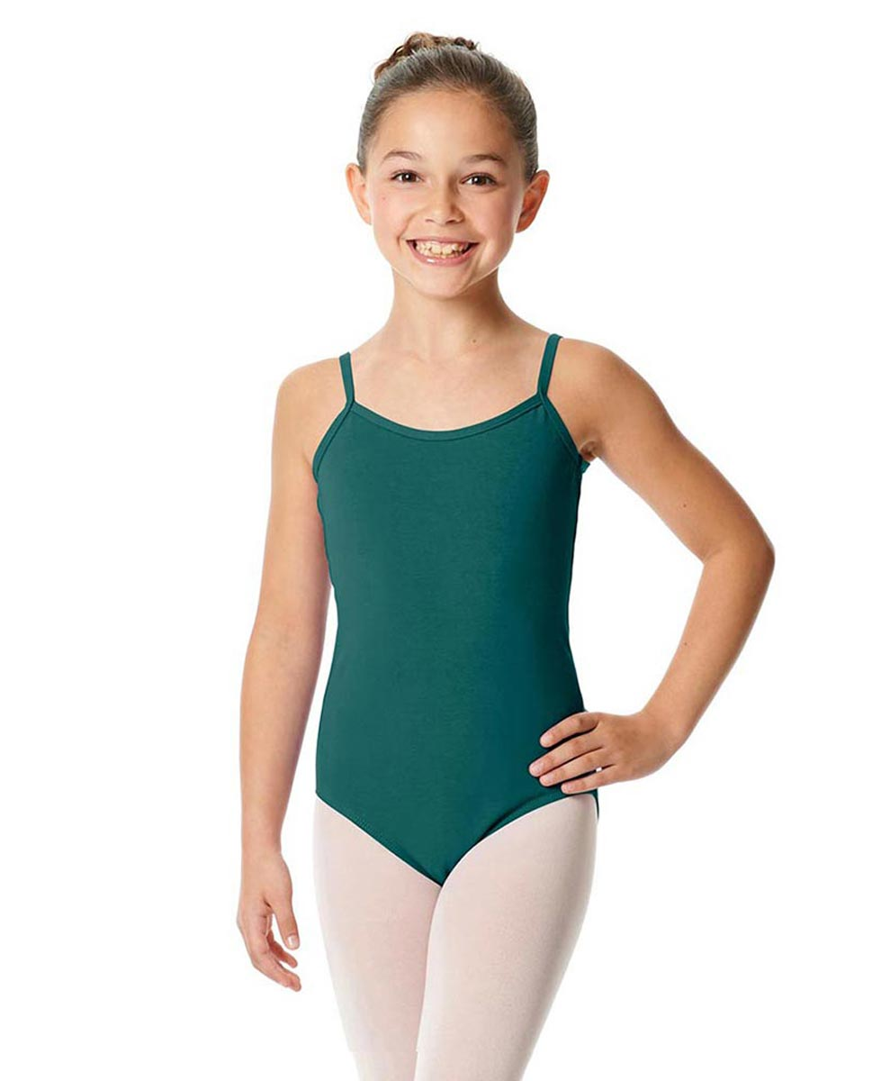 Girls Camisole Cotton Ballet Leotard Lily TEA
