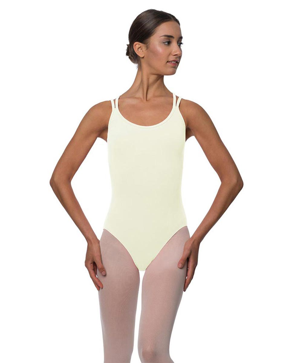 Double Strap Camisole Cotton Dance Leotard Yvette IVOR