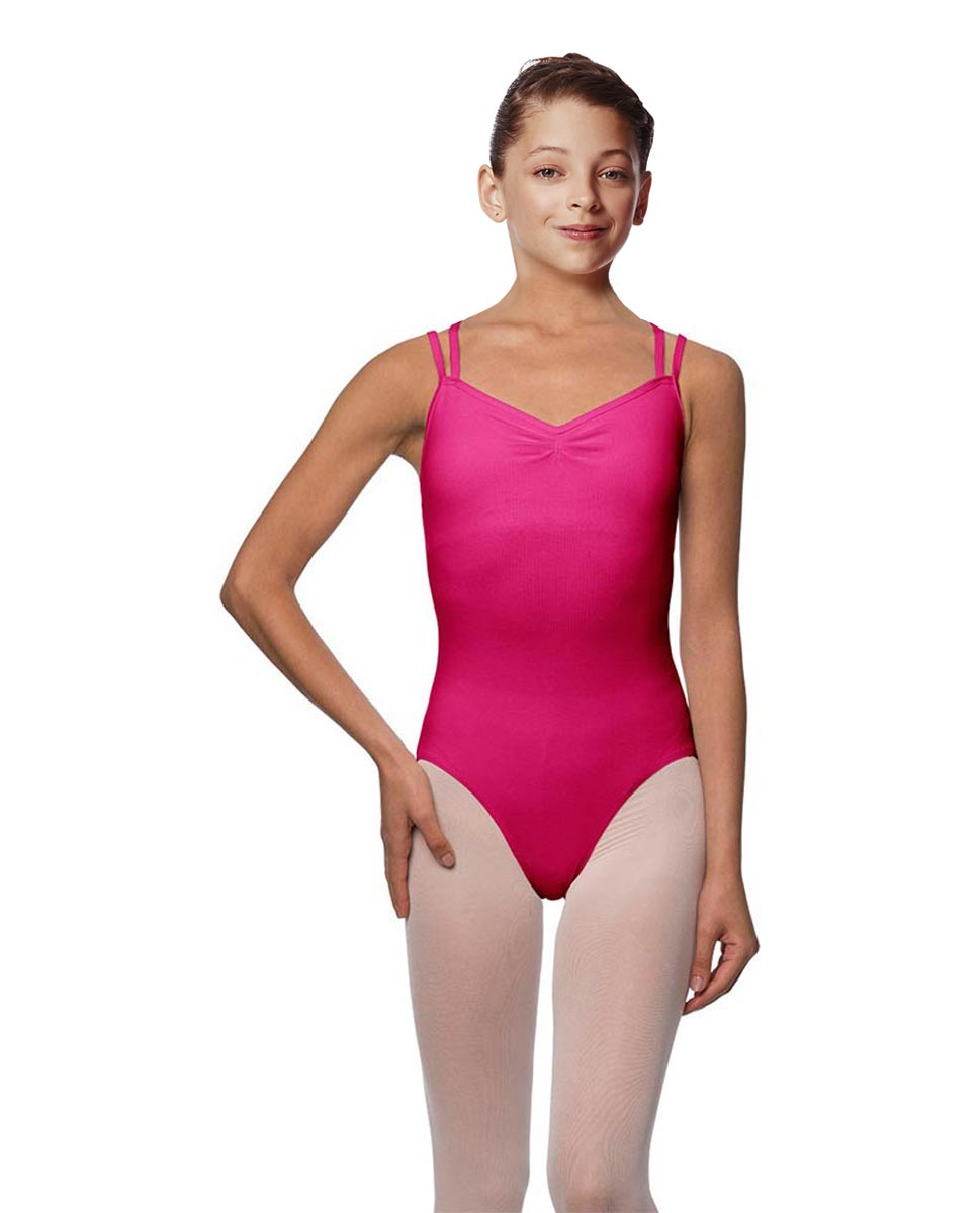 Girls Camisole Brushed Cotton Leotard Lora FUC