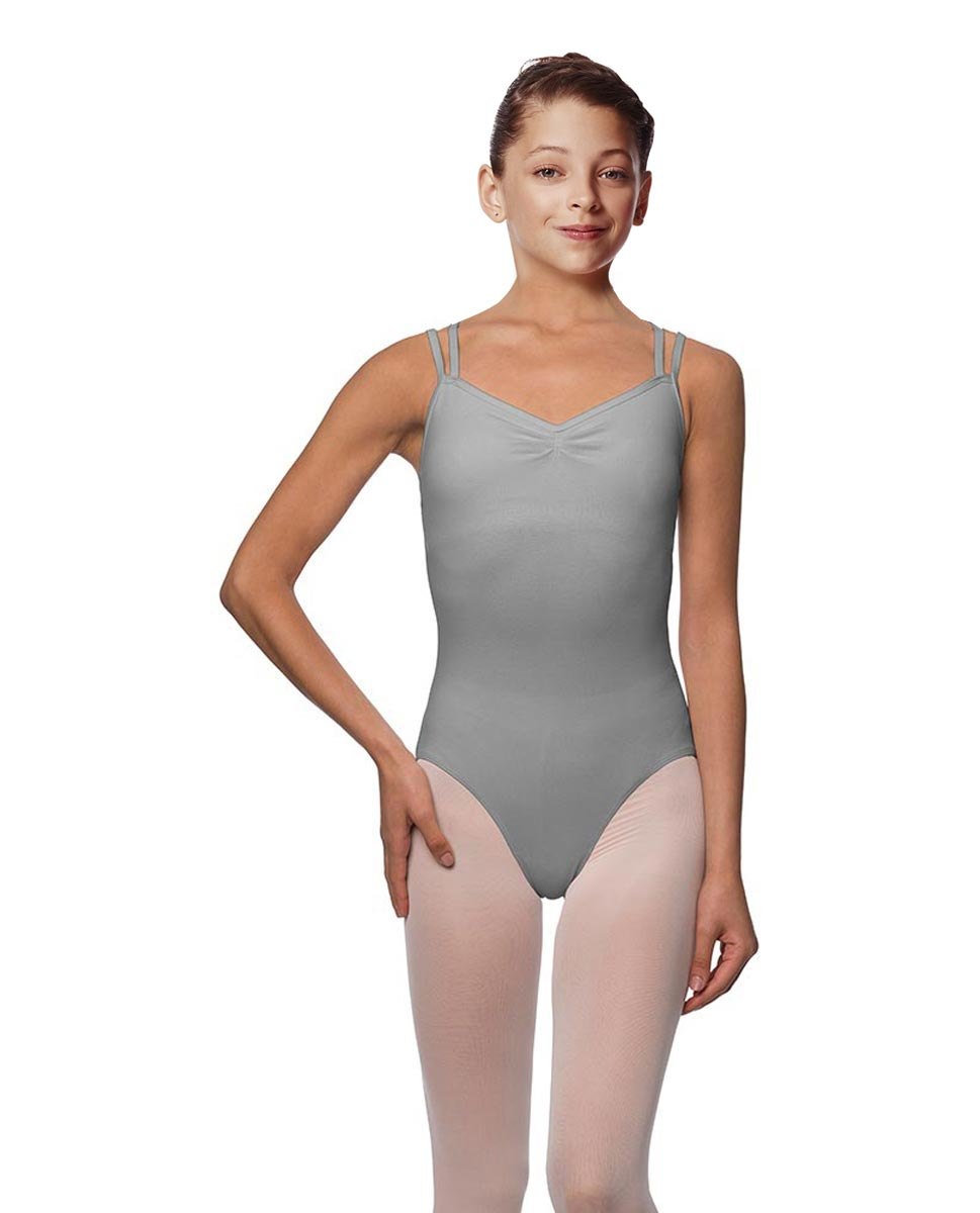 Girls Camisole Brushed Cotton Leotard Lora GRE
