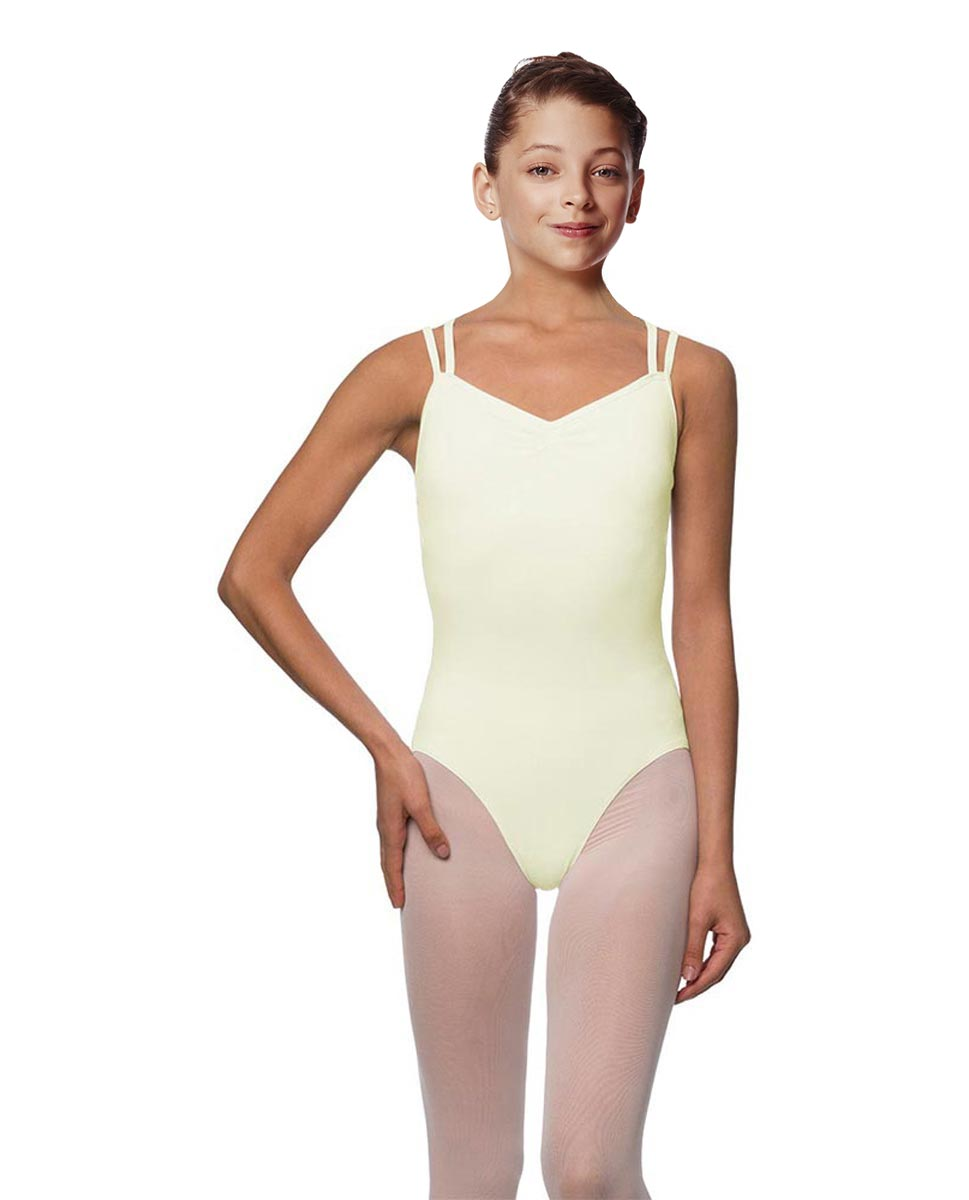 Girls Camisole Brushed Cotton Leotard Lora IVOR