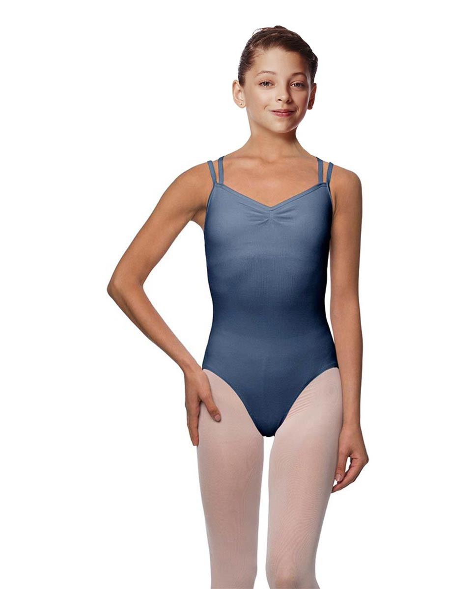 Girls Camisole Brushed Cotton Leotard Lora JEA