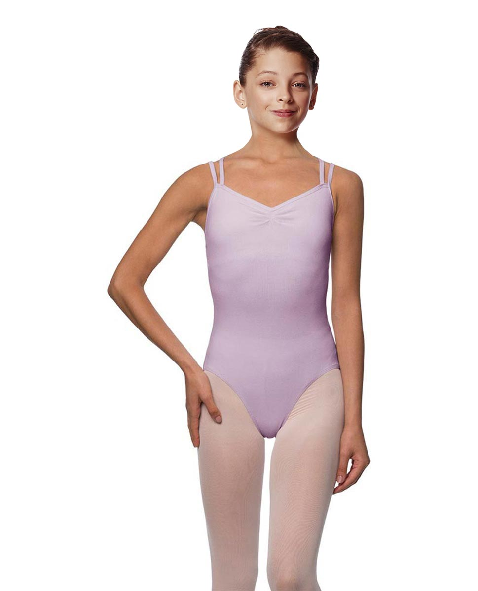 Girls Camisole Brushed Cotton Leotard Lora LIL