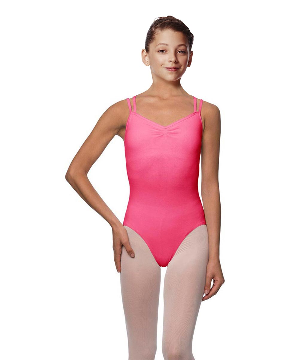Girls Camisole Brushed Cotton Leotard Lora ROS
