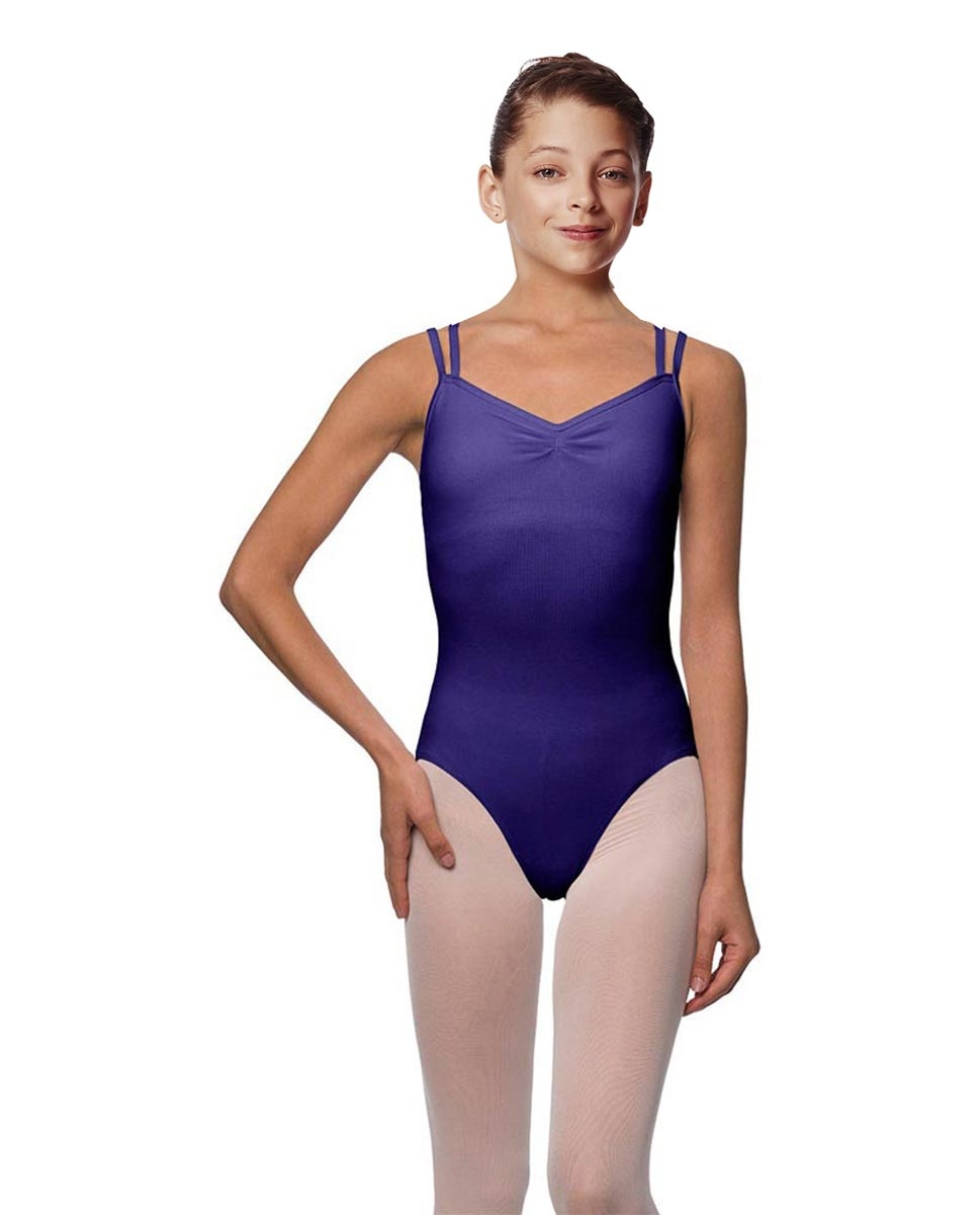 Girls Camisole Brushed Cotton Leotard Lora ROY