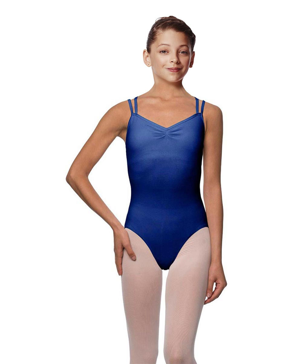 Girls Camisole Brushed Cotton Leotard Lora UMA
