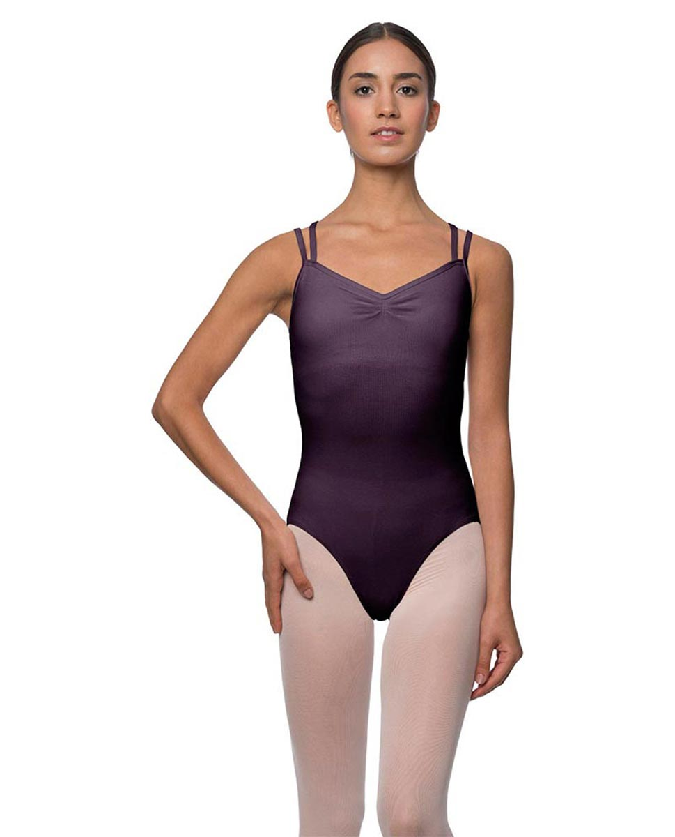 Camisole Crisscross Cotton Dance Leotard Lara AUB