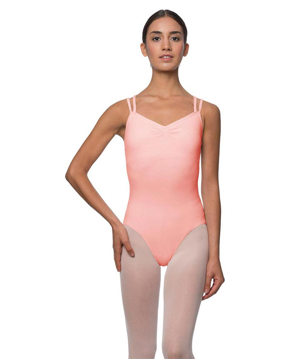 Camisole Crisscross Cotton Dance Leotard Lara BPINK