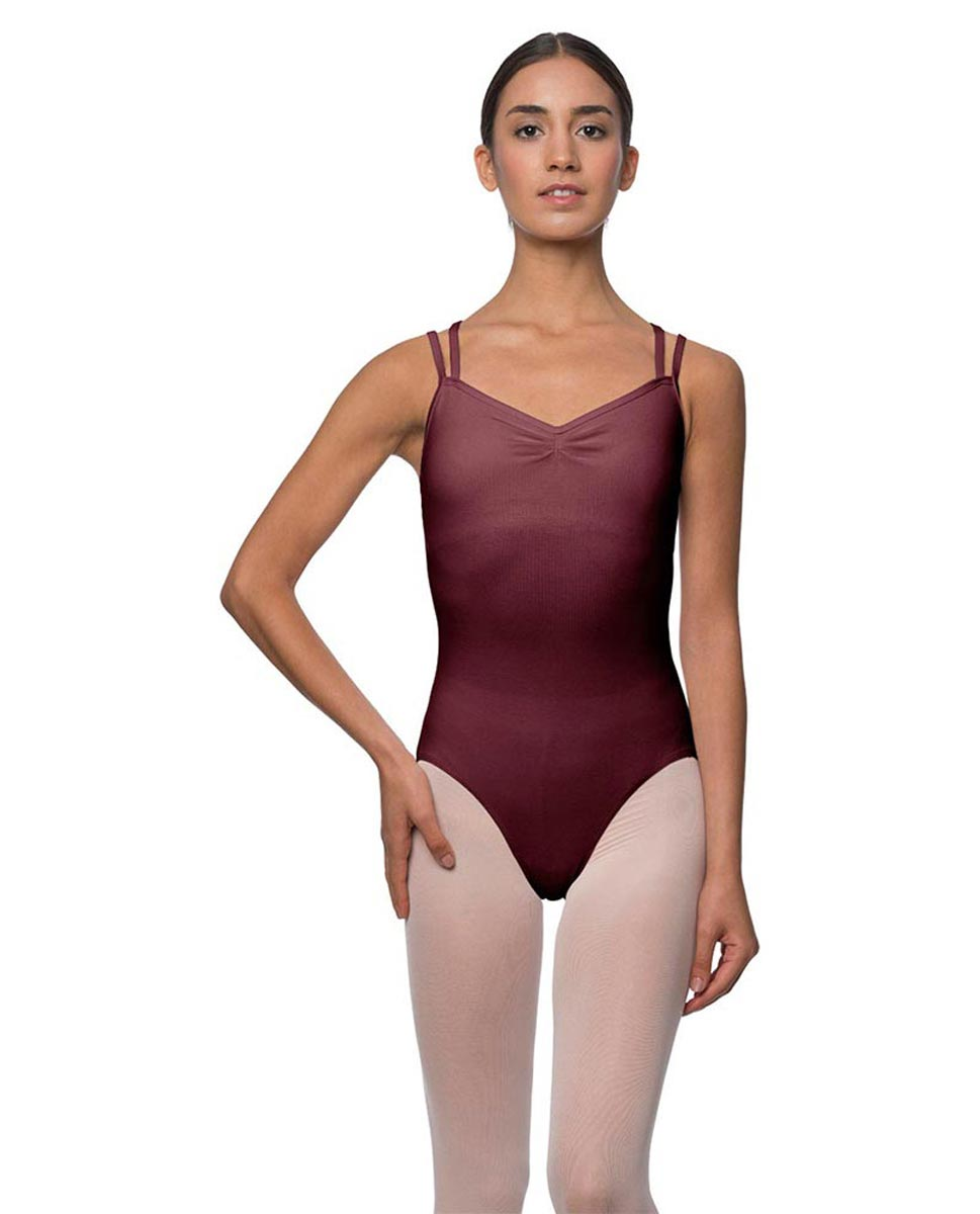 Camisole Crisscross Cotton Dance Leotard Lara BUR