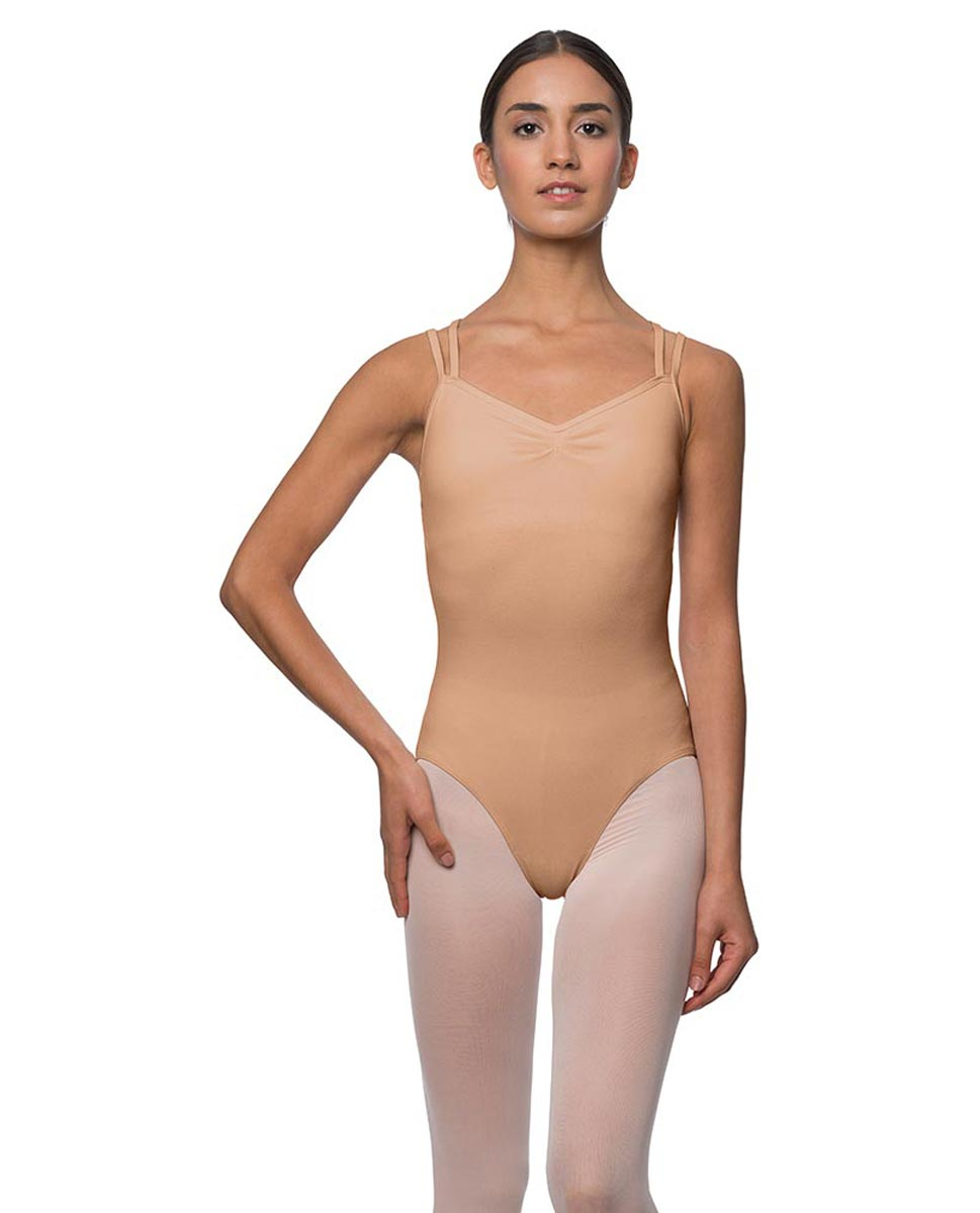 Camisole Crisscross Cotton Dance Leotard Lara DNUD