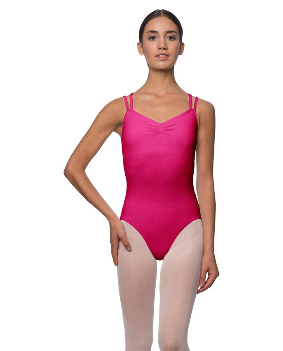 Camisole Crisscross Cotton Dance Leotard Lara FUC