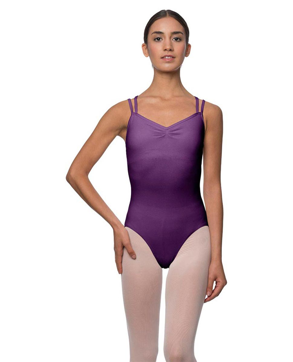 Camisole Crisscross Cotton Dance Leotard Lara GRAP