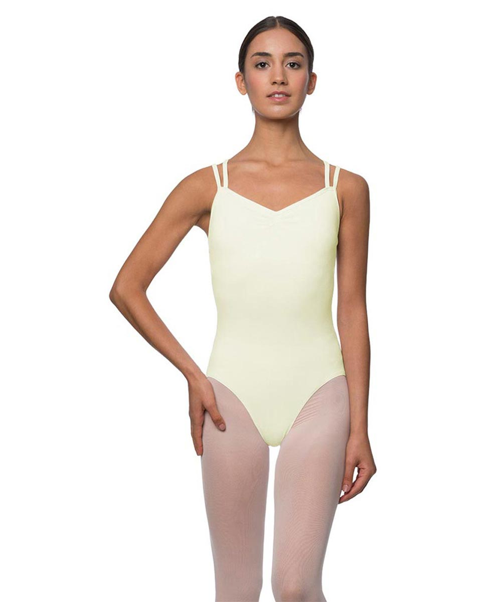 Camisole Crisscross Cotton Dance Leotard Lara IVOR