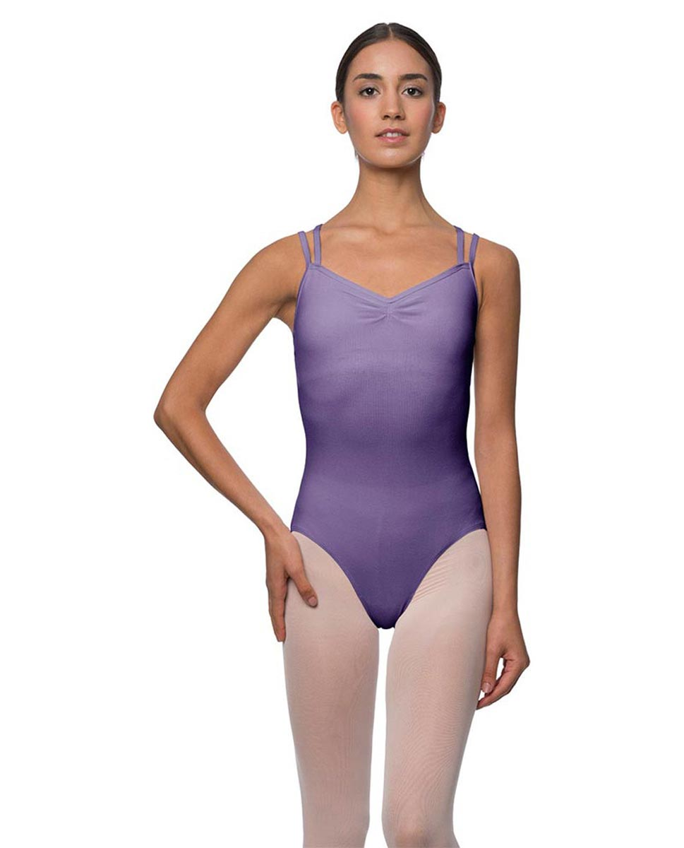 Camisole Crisscross Cotton Dance Leotard Lara LAV