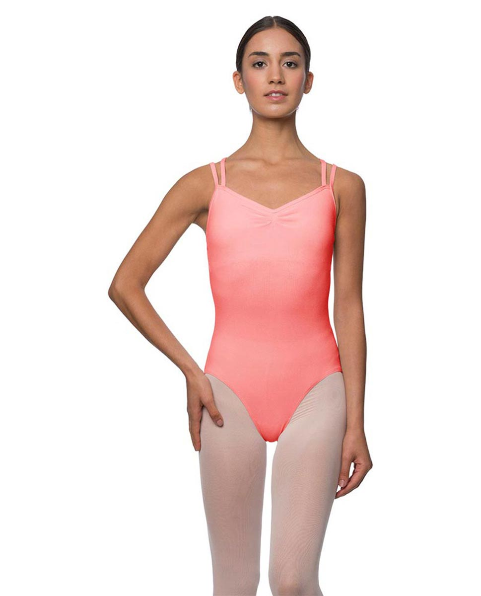 Camisole Crisscross Cotton Dance Leotard Lara PEAC