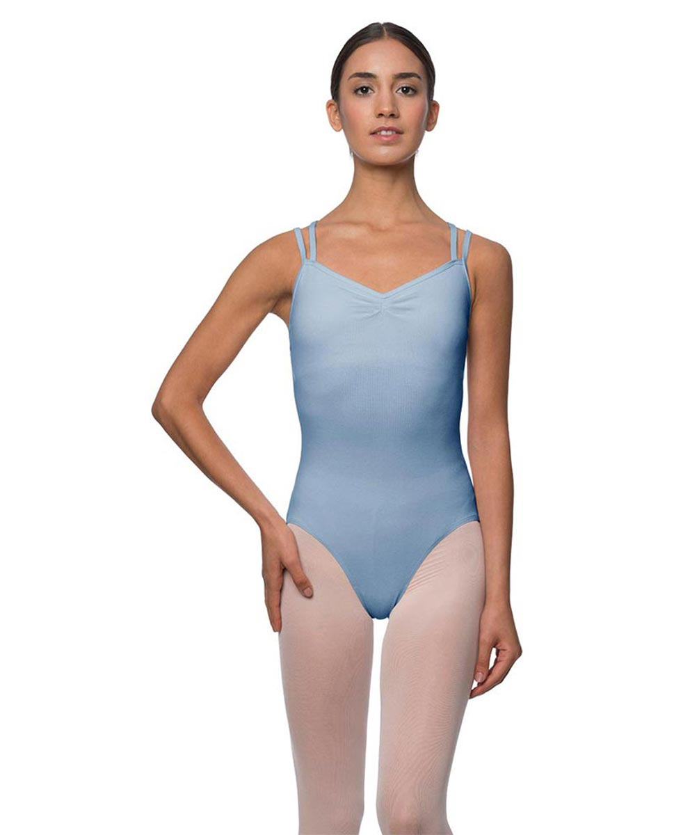 Camisole Crisscross Cotton Dance Leotard Lara SKY