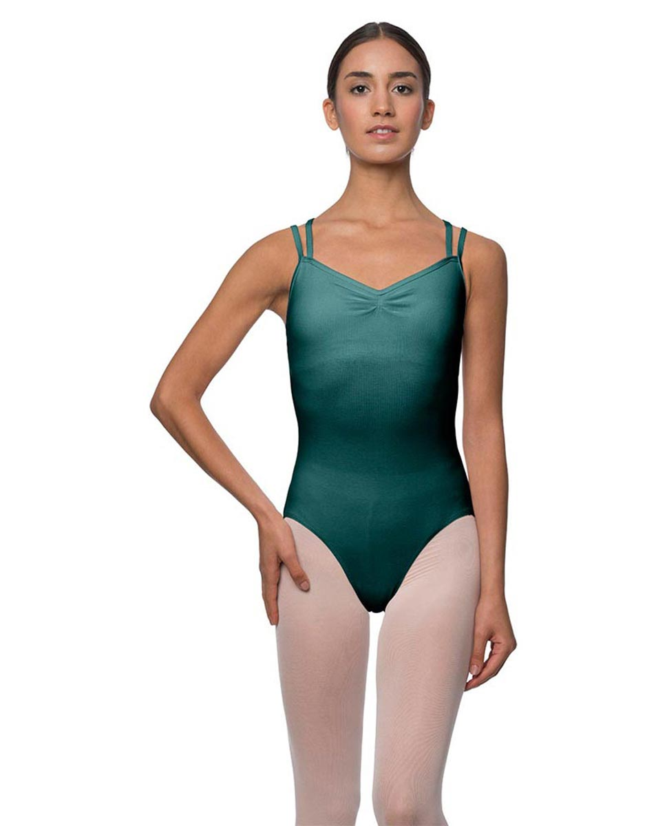 Camisole Crisscross Cotton Dance Leotard Lara TEA