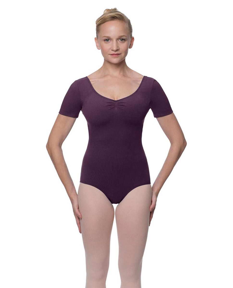 Short Sleeve Cotton Dance Leotard Mckenzie AUB