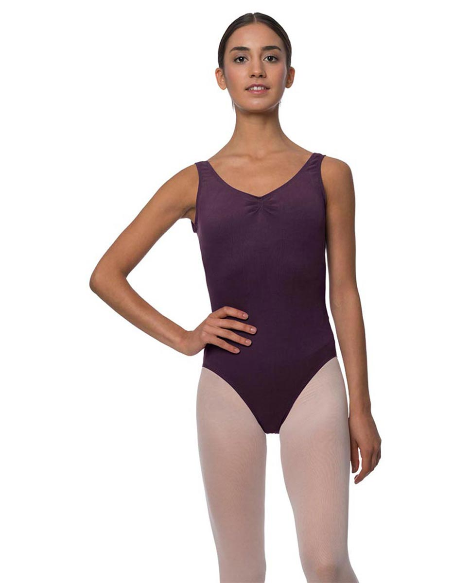 Tank Gathered Cotton Dance Leotard Luna AUB