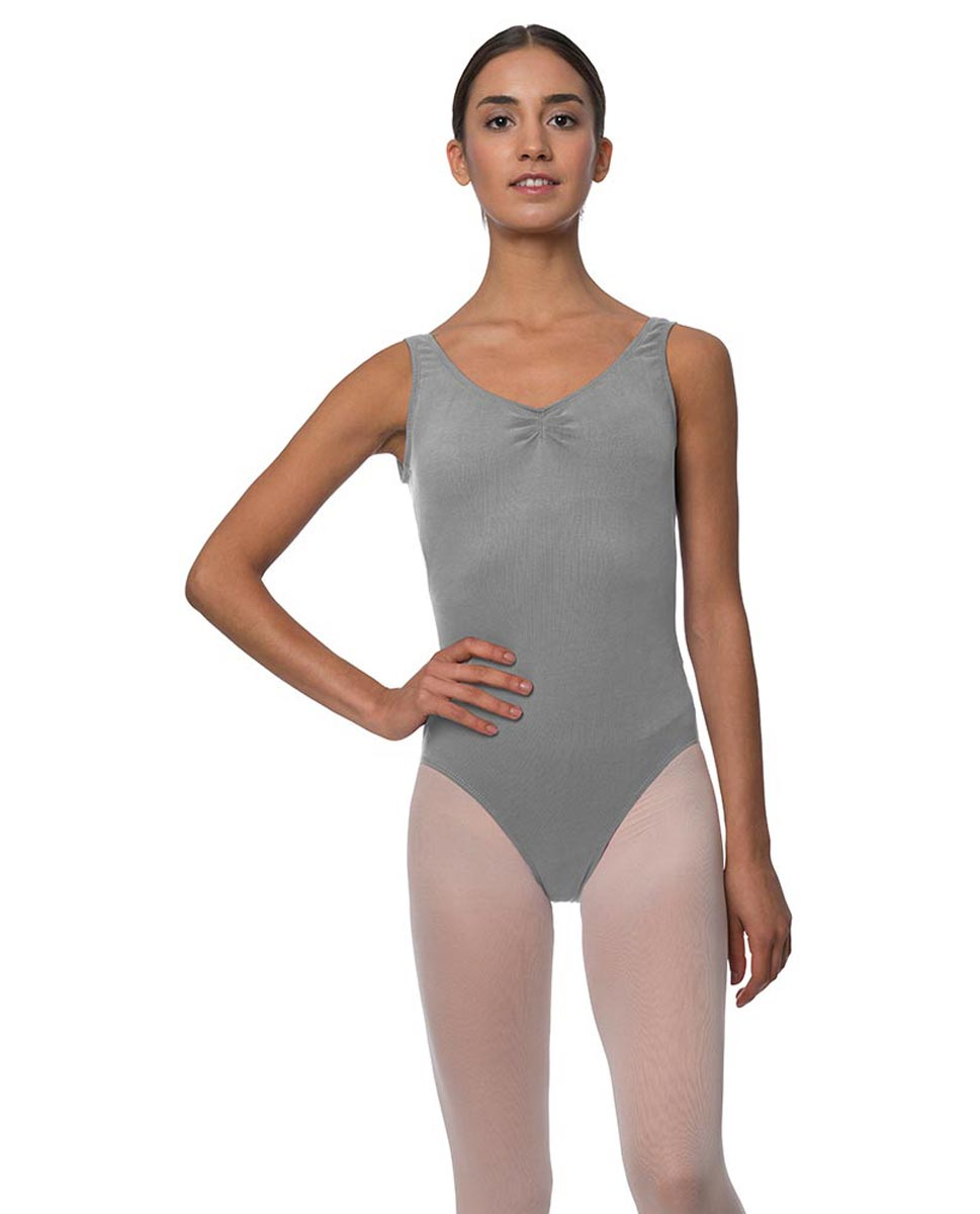 Tank Gathered Cotton Dance Leotard Luna GRE