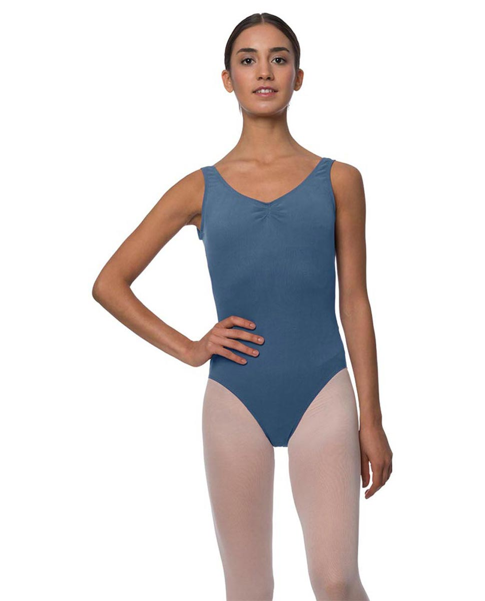 Tank Gathered Cotton Dance Leotard Luna JEA