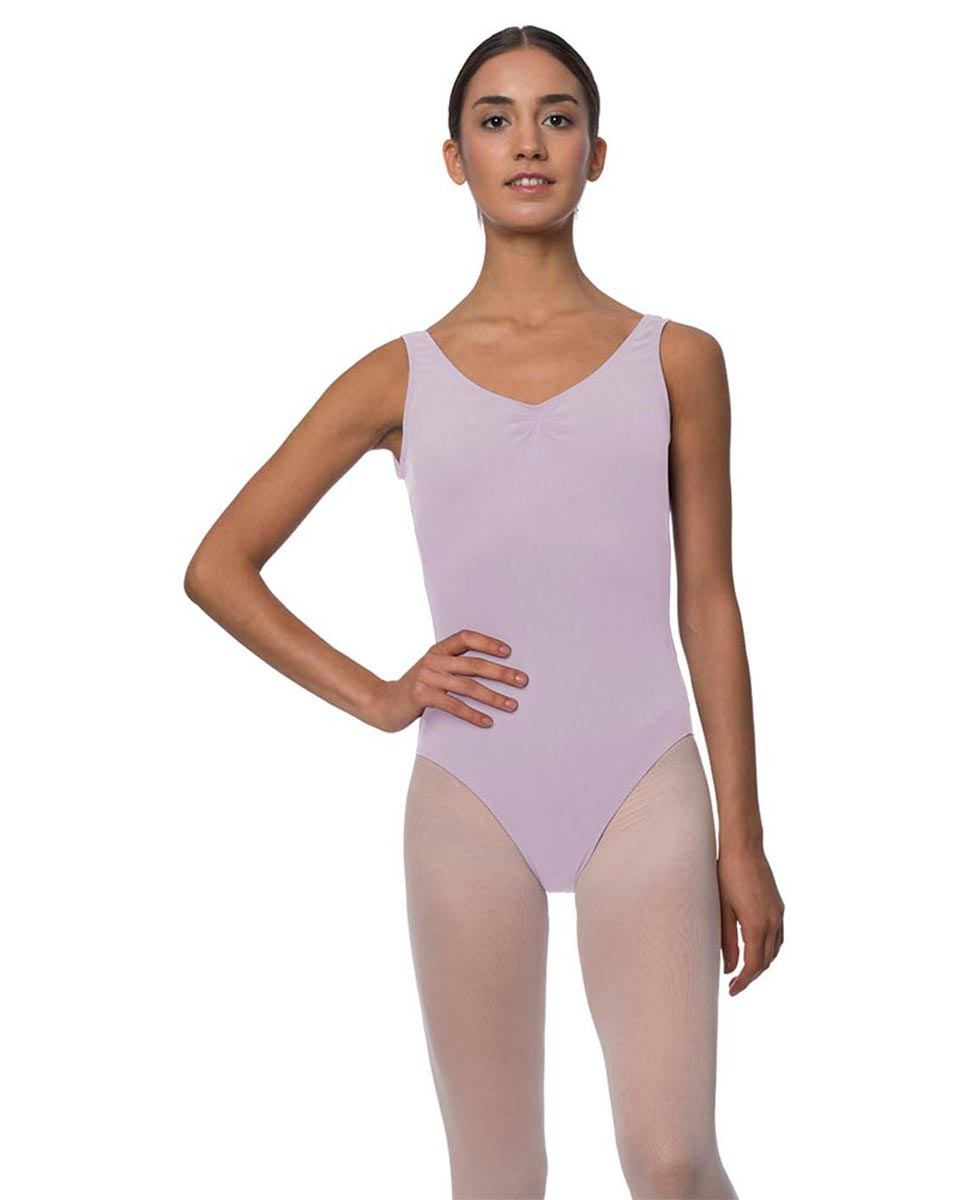 Tank Gathered Cotton Dance Leotard Luna LIL