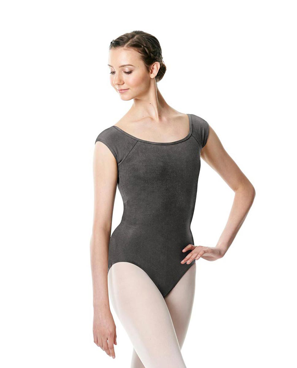 Brushed cotton Cap Sleeve Dance Leotard Dinah DGRE