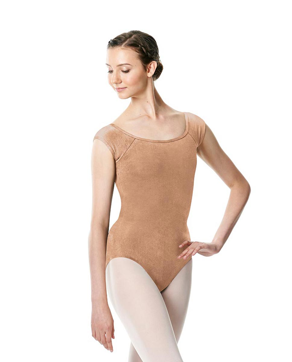 Brushed cotton Cap Sleeve Dance Leotard Dinah DNUD