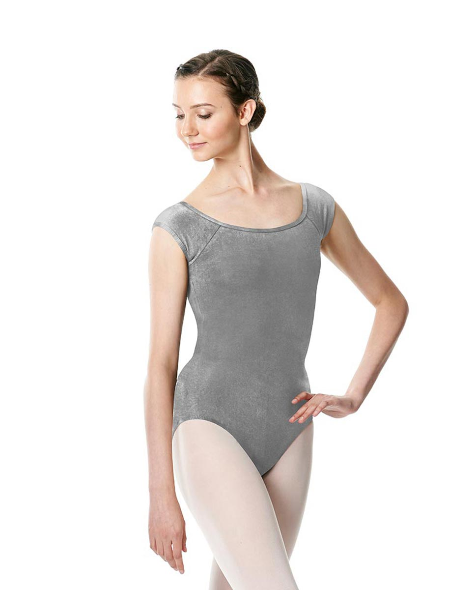 Brushed cotton Cap Sleeve Dance Leotard Dinah GRE