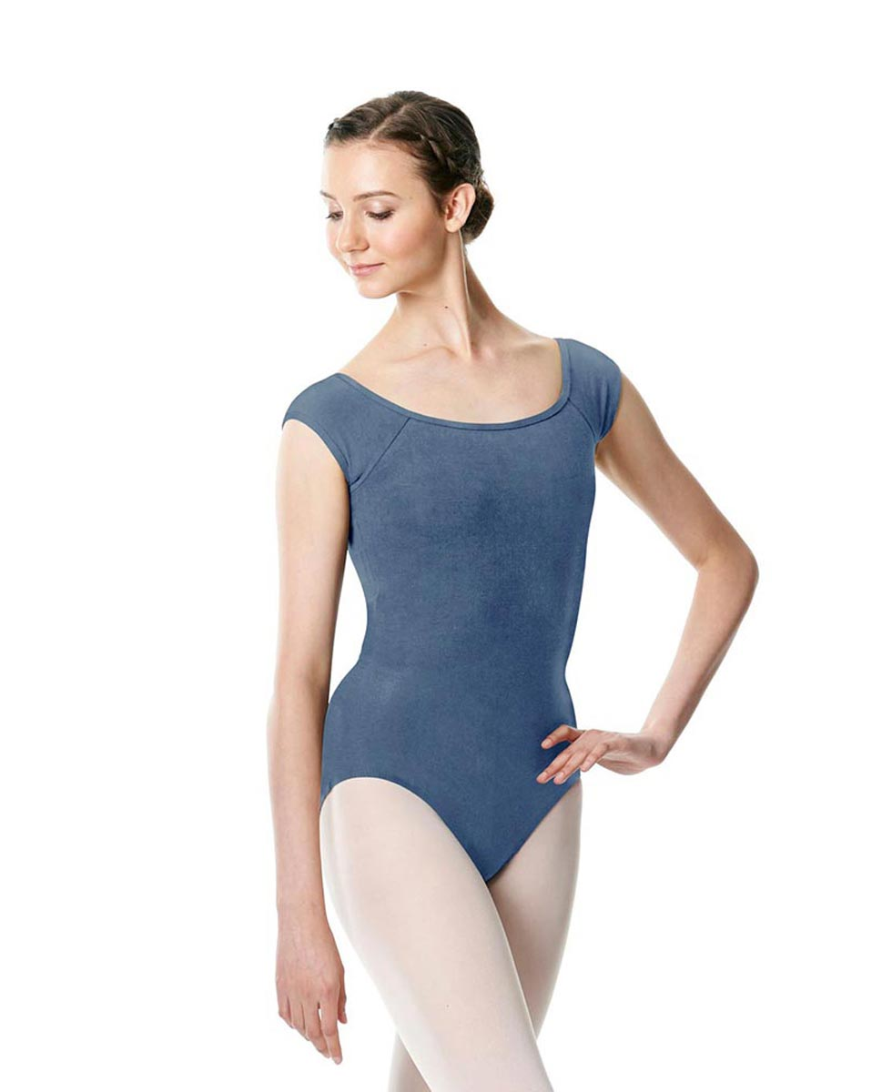 Brushed cotton Cap Sleeve Dance Leotard Dinah JEA