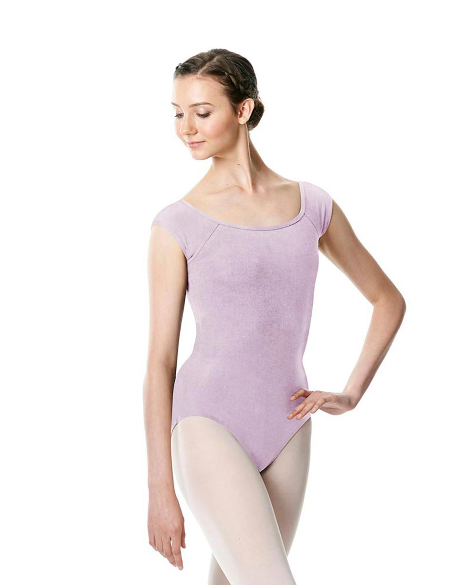Brushed cotton Cap Sleeve Dance Leotard Dinah LIL
