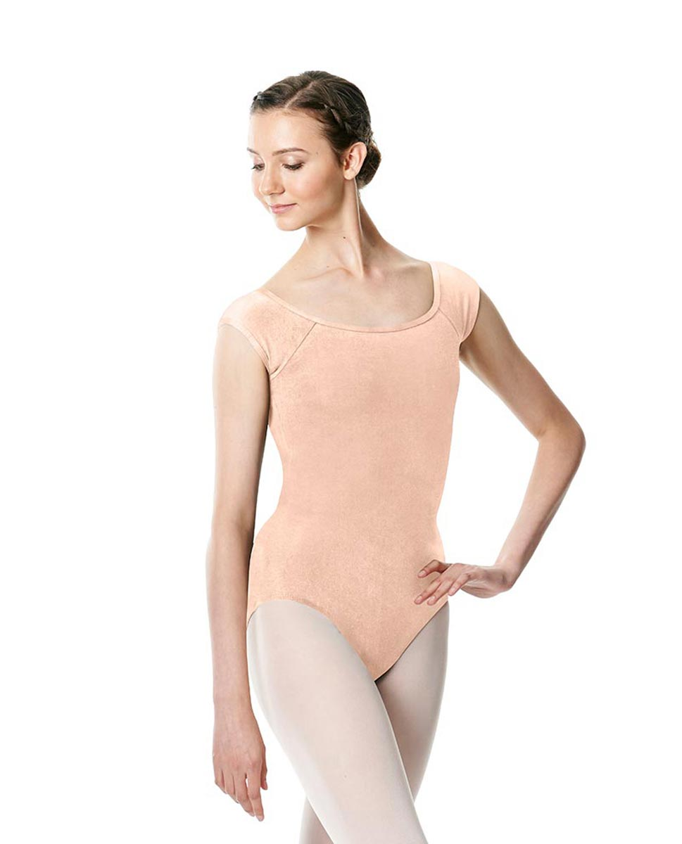 Brushed cotton Cap Sleeve Dance Leotard Dinah LNUD