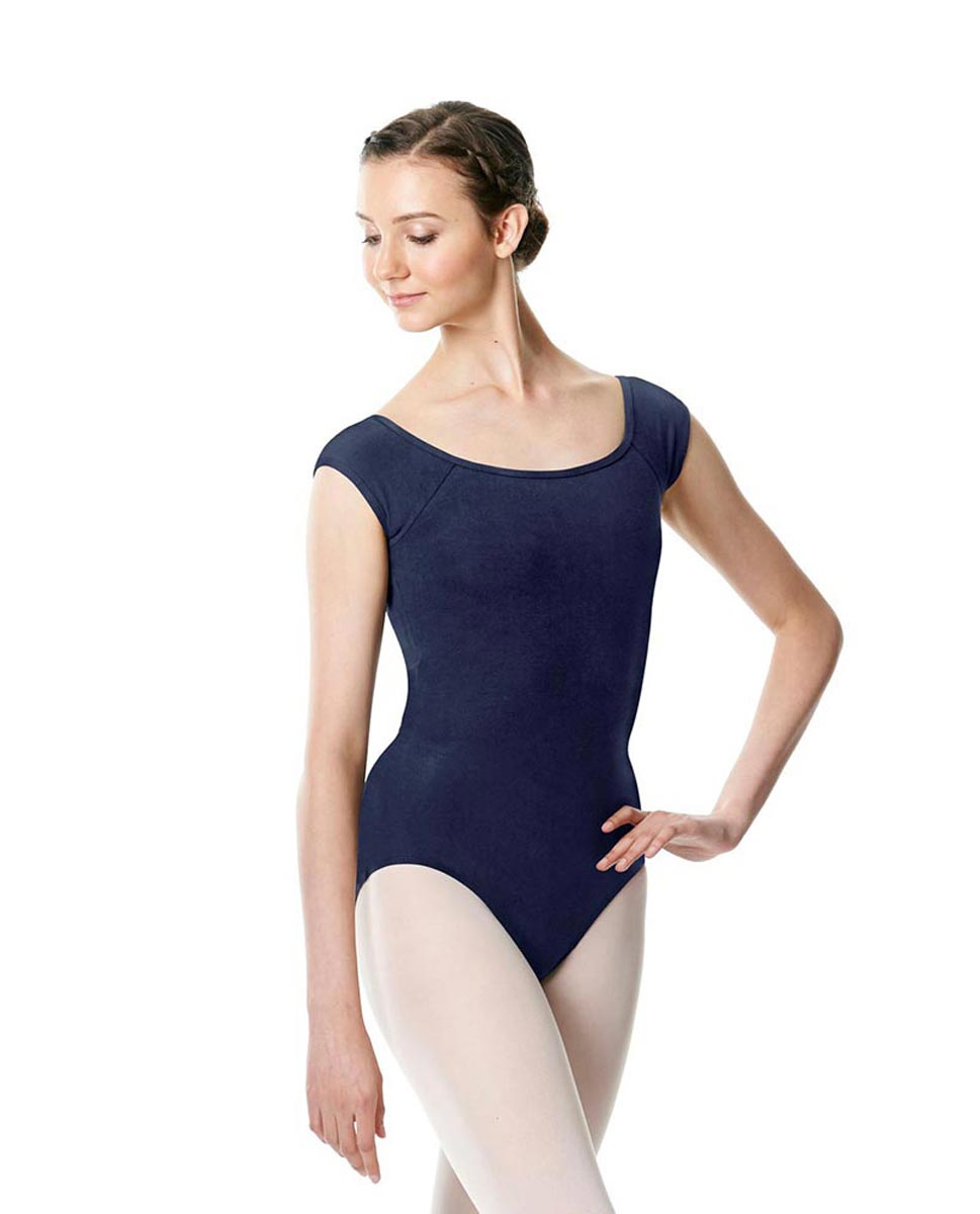 Brushed cotton Cap Sleeve Dance Leotard Dinah NAY