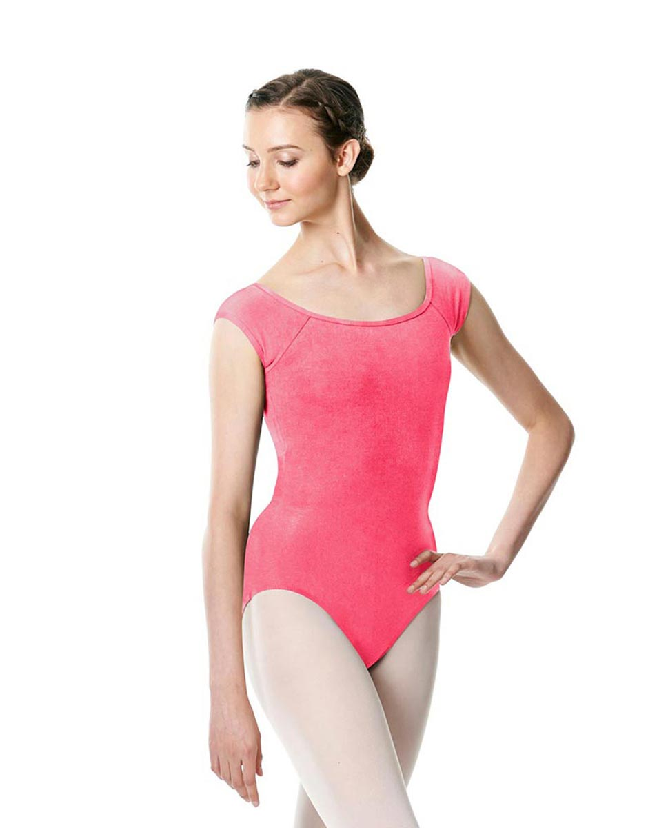Brushed cotton Cap Sleeve Dance Leotard Dinah ROS