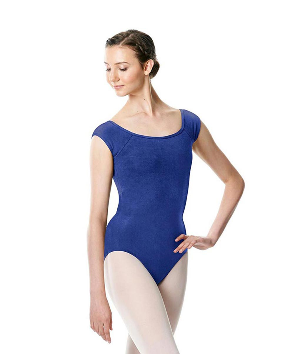 Brushed cotton Cap Sleeve Dance Leotard Dinah UMA