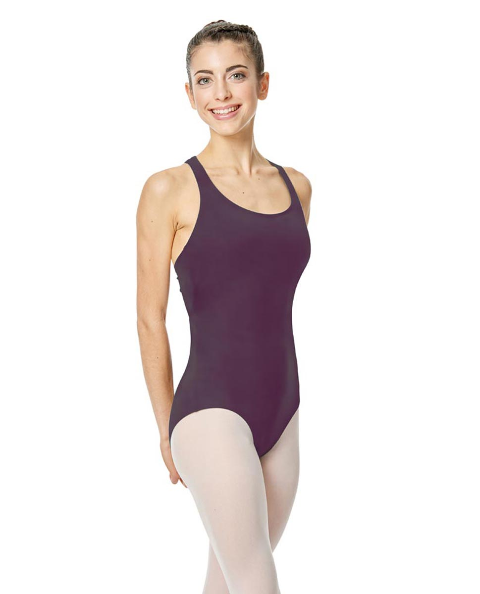 Brushed Cotton Tank Dance Leotard Ember AUB