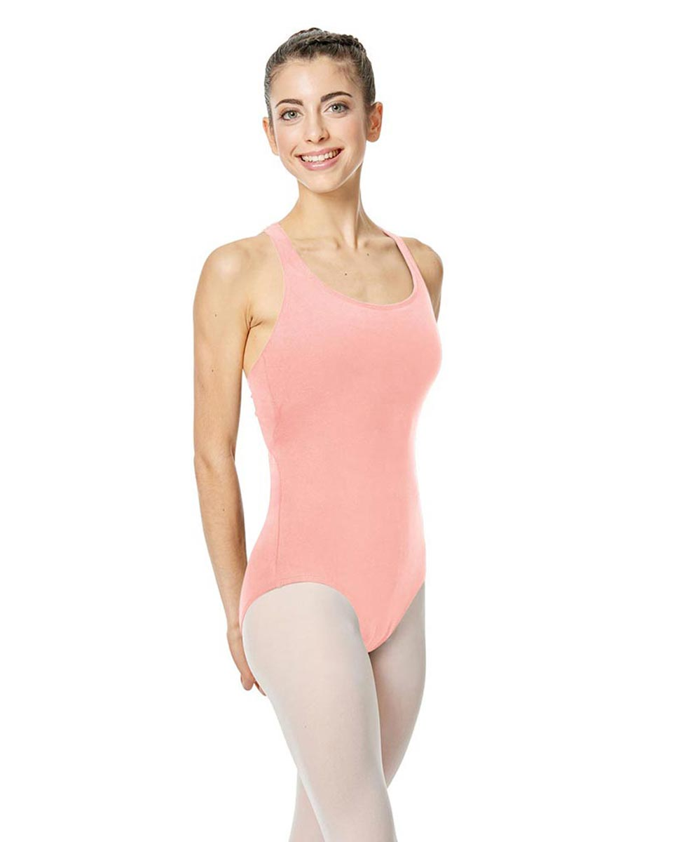 Brushed Cotton Tank Dance Leotard Ember BPINK