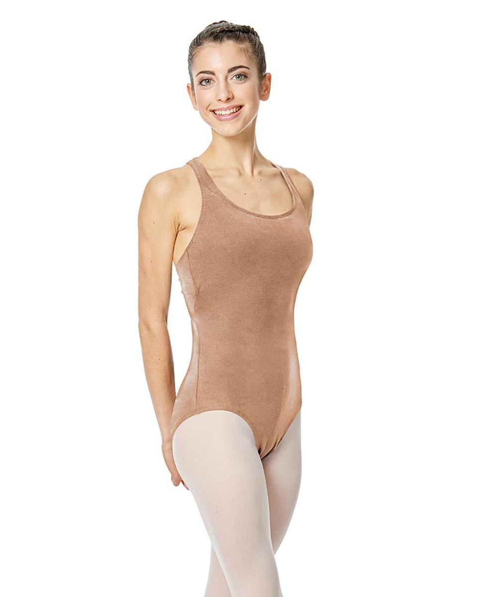 Brushed Cotton Tank Dance Leotard Ember DNUD