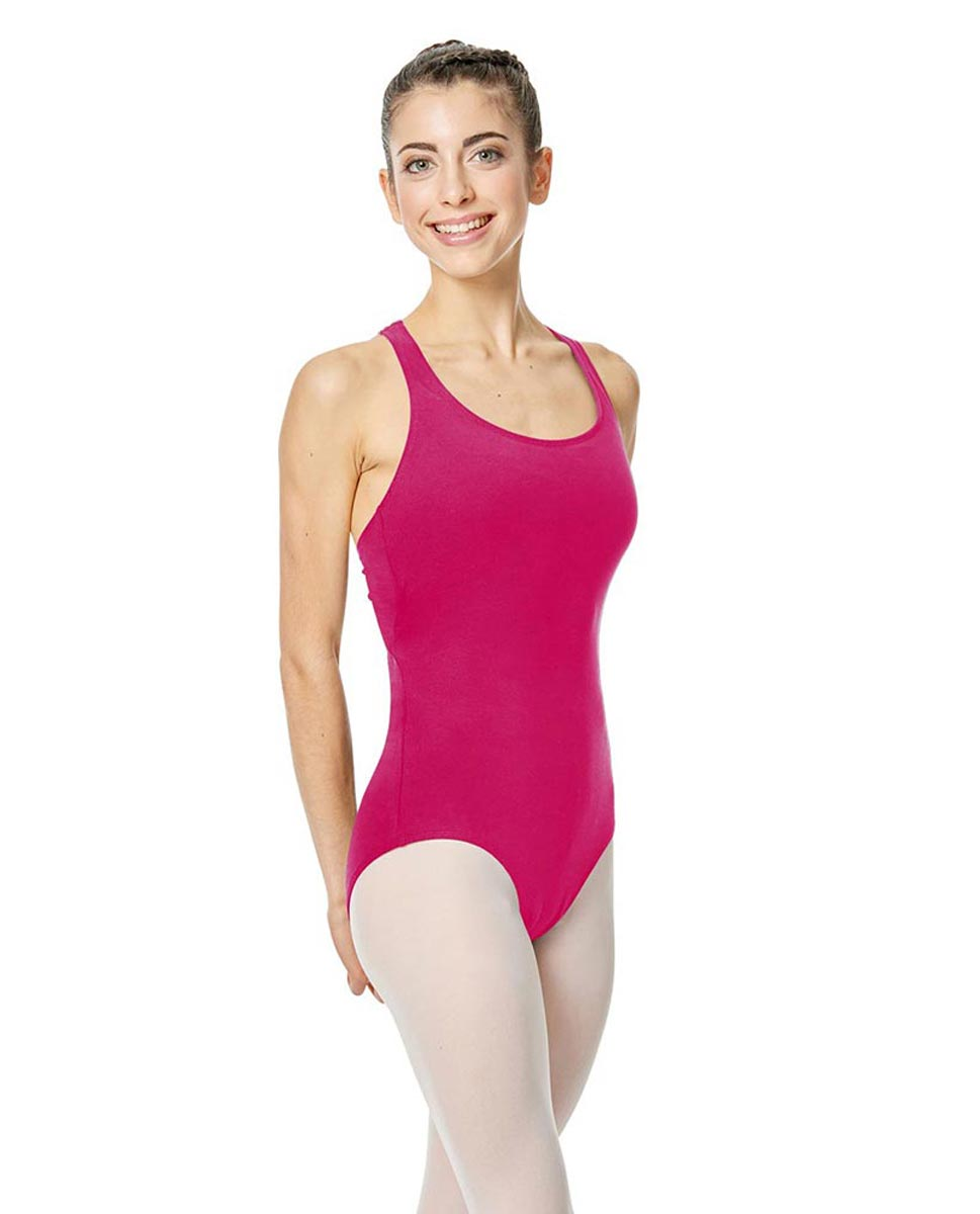 Brushed Cotton Tank Dance Leotard Ember FUC