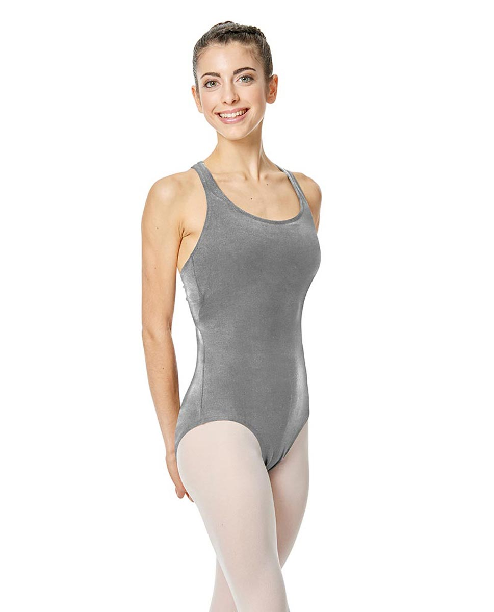 Brushed Cotton Tank Dance Leotard Ember GRE